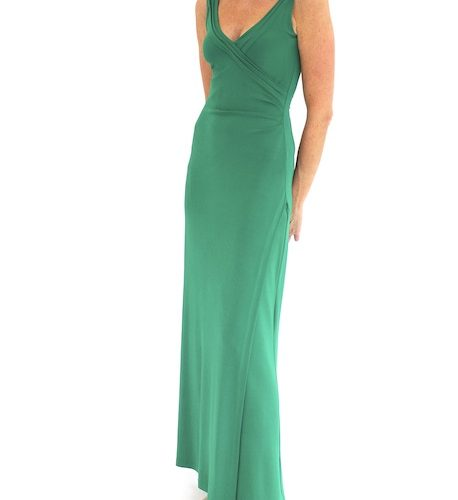 Louise Kennedy green gown