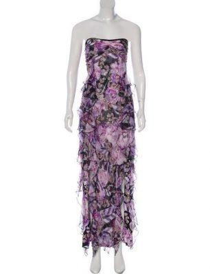 DVF Lavender dress