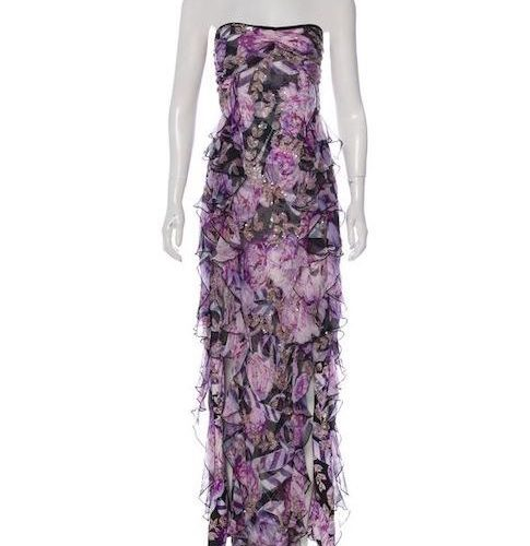 DVF Lavender dress
