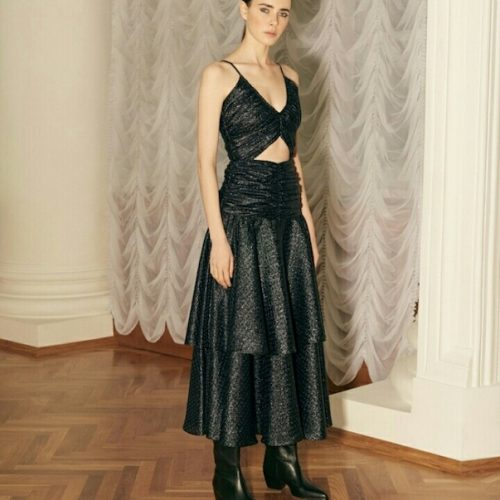 Kalmanovich black dress