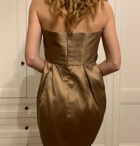 Kalmanovich gold dress