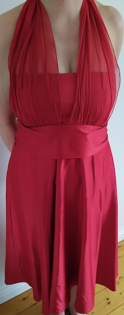 Allicano dress red
