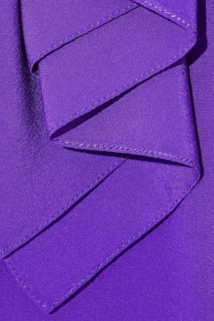 Victoria Beckham purple dress copy