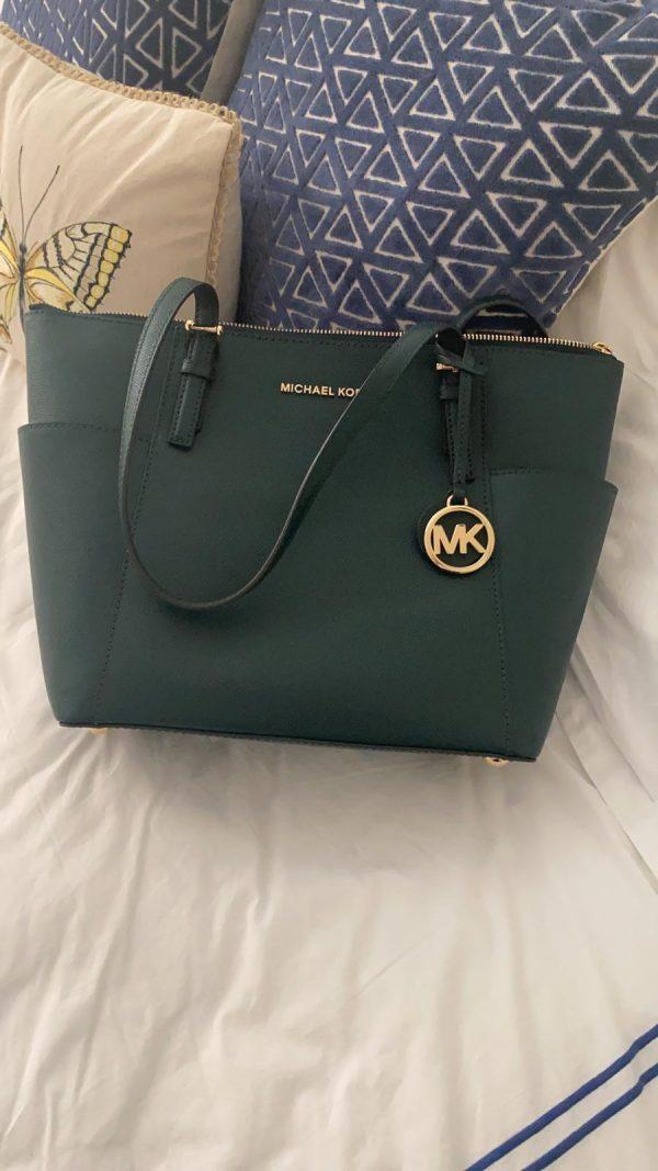 Michael Kors green bag