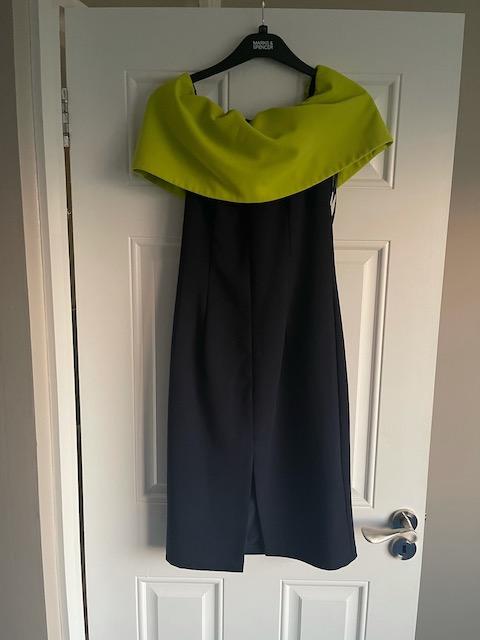 the-8th-sign-carina-colourblock-bardot-dress-navy