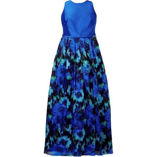 Theia blue dress