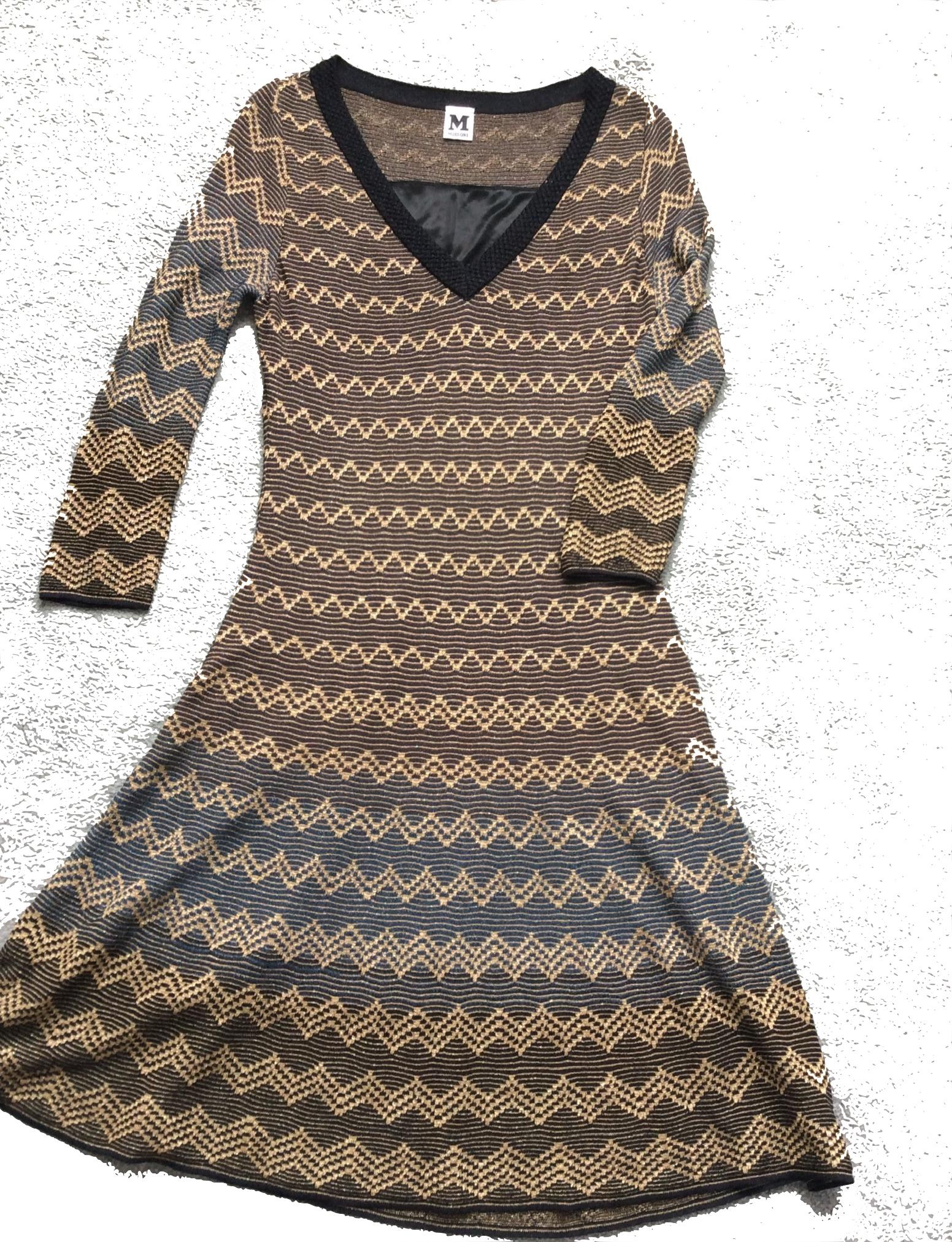 Missoni knit dress copy