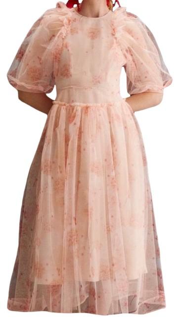 Simone Rocha x HM peach dress