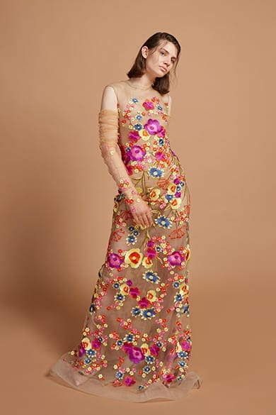 Umit Kutluk floral dress